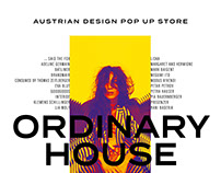 "Austrian Design Pop up Store ""Ordinary House"""