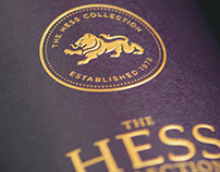 Hess Collection Wine Labels & Packaging
