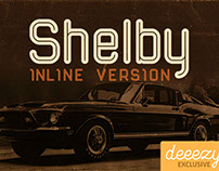 Shelby Inline - Free Font