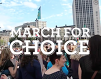 March for Choice 2015 Promo Video