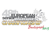 graphic work - European Karate Championship full design