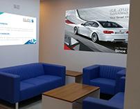 Installation dDesign - Car Rent Office