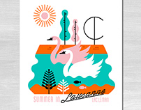 Summer in Lausanne