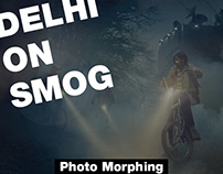 Delhi on Smog