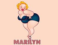 Chubby Marilyn
