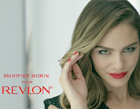 Revlon Commercial Lip & Nail