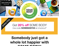 Superdrug Email Marketing - SOMEBODY
