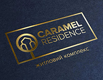Logo and advertising concept for residential complex