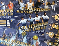 CBU Athletics Fall Posters
