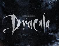 Bram Stoker's Dracula Mixed Media Painting.