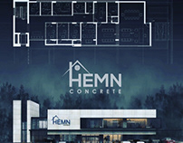 Hemin Concrete's Head office and factory Design