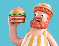 Liberty's Burger
