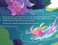 Folktale illustrations/Kidlit