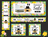 Summer Sale Banner Ads
