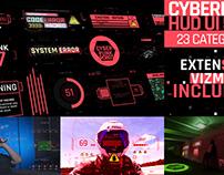 Cyberpunk HUD UI 500+