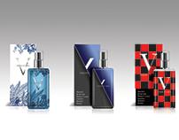 Mens perfume bottle sample design