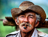 Guajiro Natural Tobacco Farmer in Viñales Cuba