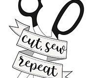 Logo for Tatooed Quilter