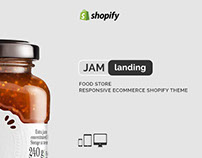 Jam Landing – Food Store Responsive eCommerce Shopify T