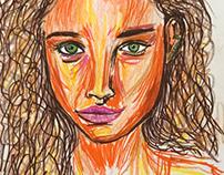 Marker sketch 1