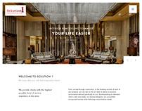 website UI & UX - interior design