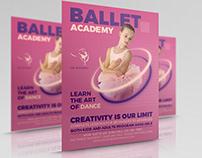 Ballet Dance Academy Flyer Template