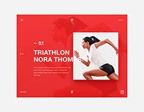 Triathlon Running Practice