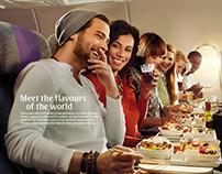 Emirates Economy Class Cuisine