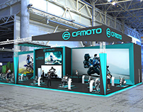 Exhibition Stand // CFMOTO