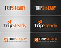 Trip Steady Logo Design