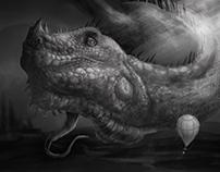 Dragon and Balloon