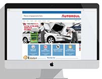 Maquette du site web autoroul