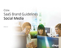 Citrix Mobility Apps Brand Guidelines for Social Media