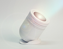 Milk. a portable video projector