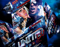 United Dj Flyer Template