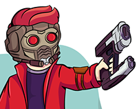 Star lord(Marvel Cinematic Universe MCU)