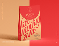 Free Paper Bag Pouch Mockup