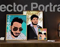 Vector Portraits Design