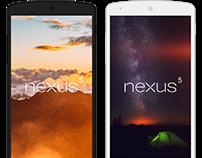 Nexus 5 Free Mockups