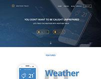 Mobile App Landing Page