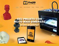 www.proj3d.com.br Branding, Print & Website