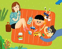 Children's Illustration x 2