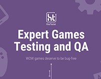 HireTester. Expert Games Testing and QA
