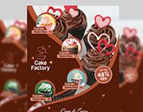 Cupcake Flyer Template V2
