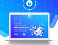 Hi5 App Landing Page Template