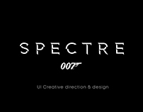 SPECTRE UI Creative direction, design & animation