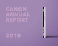 Canon Annual Report | 2010