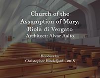 Riola Parish Church - CG Render
