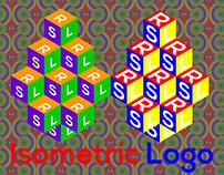 Isometric 3d Logo Design.