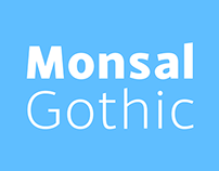 Monsal Gothic - Type Family